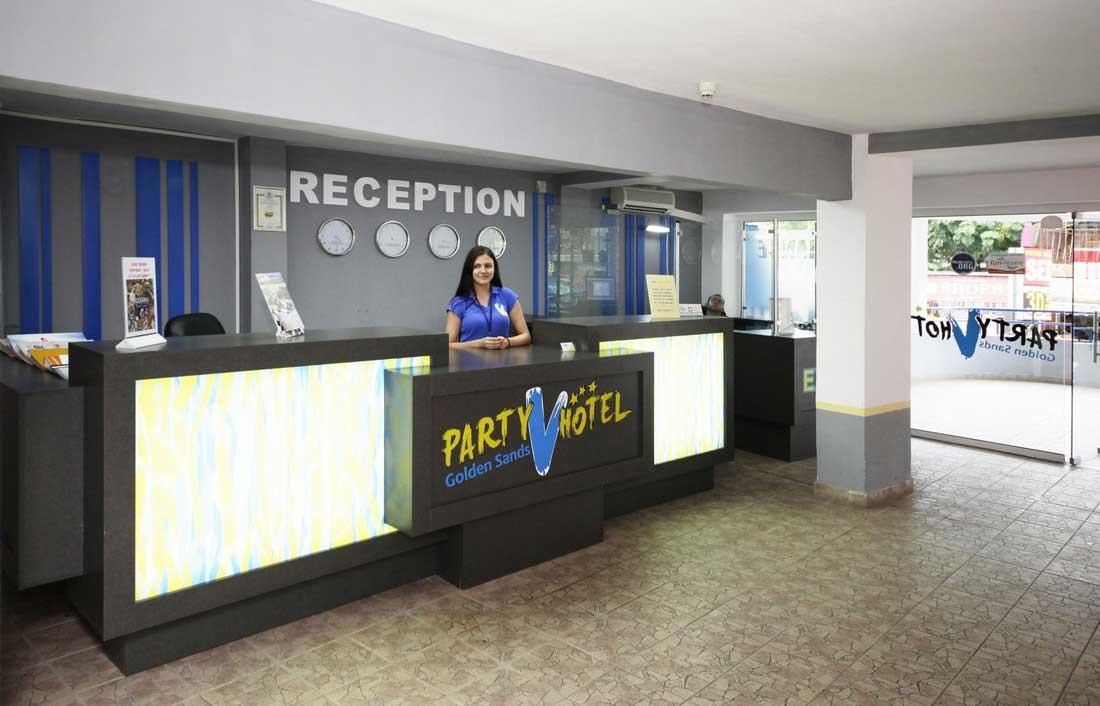 Party Hotel Golden Sands, Goldstrand