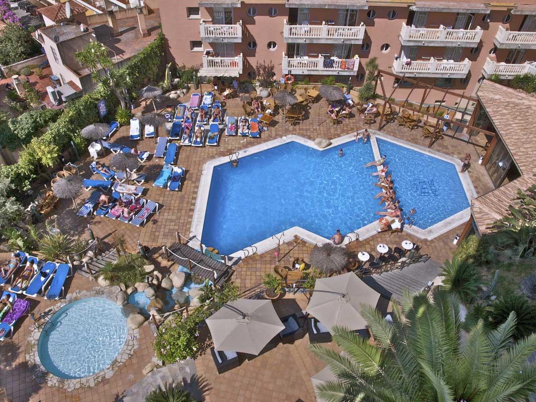 hotel alba park lloret:
