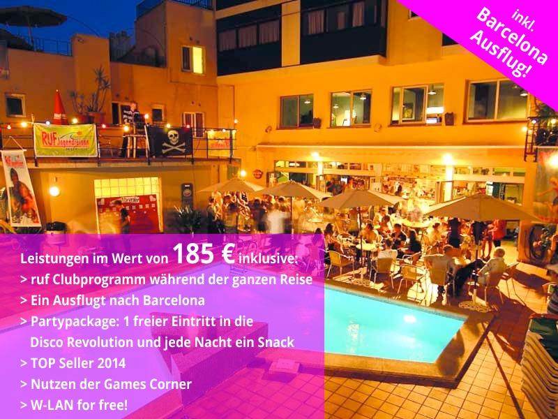 ruf-younglife Hotel Caribe, Lloret de Mar