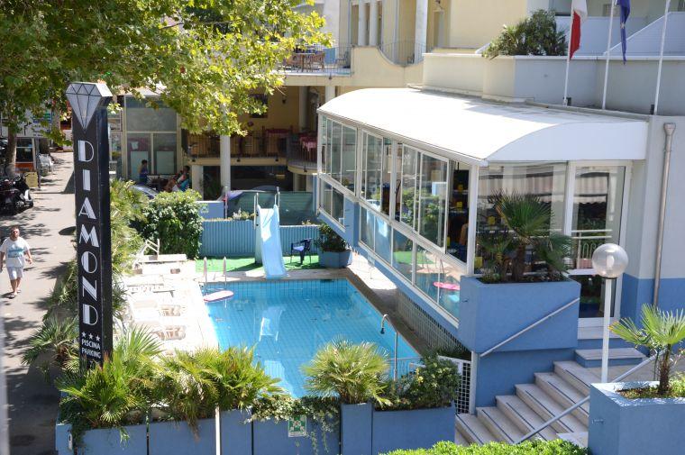 Hotel Diamond, Rimini