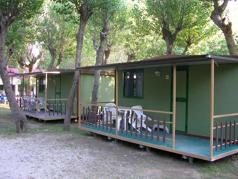 Mobile Home Bungalows, Rimini