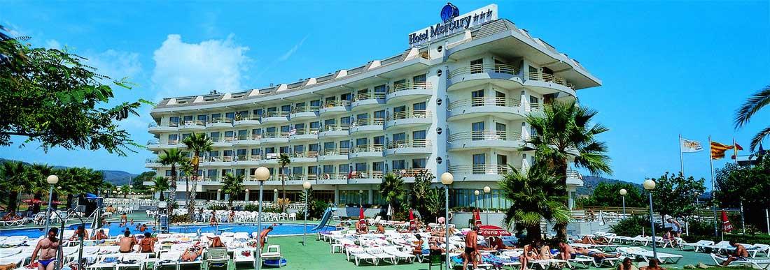 Hotel Mercury, Santa Susanna