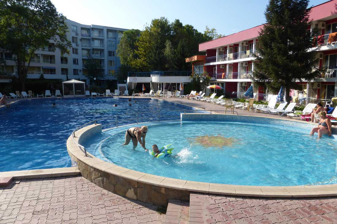 Hotel Regina, Sonnenstrand